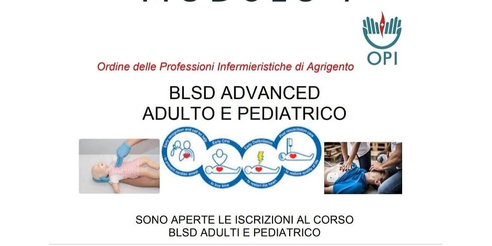 BLSD ADVANCED ADULTO E PEDIATRICO Modulo 1