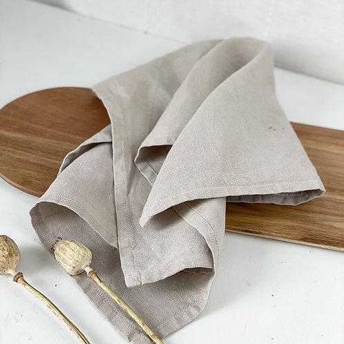 Leinen Geschirrtuch/Küchentuch - natur