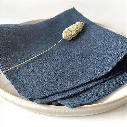Serviette   blau