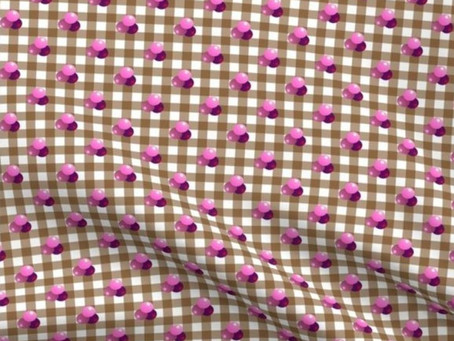 New Triple Berries on Gingham Ground Collection on Sale