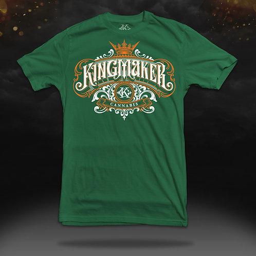 Kingmaker Cannabis Shirt (Limited Edition Green)
