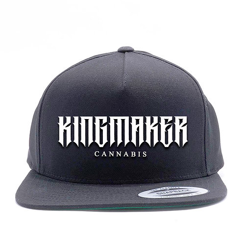 Kingmaker Vintage Font snapback