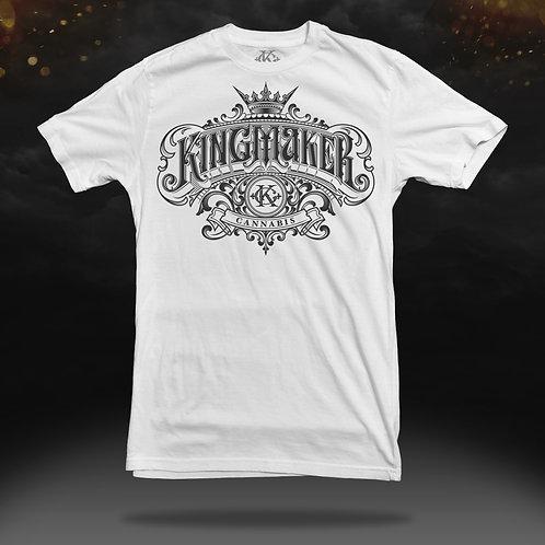 Kingmaker Cannabis Shirt (White)