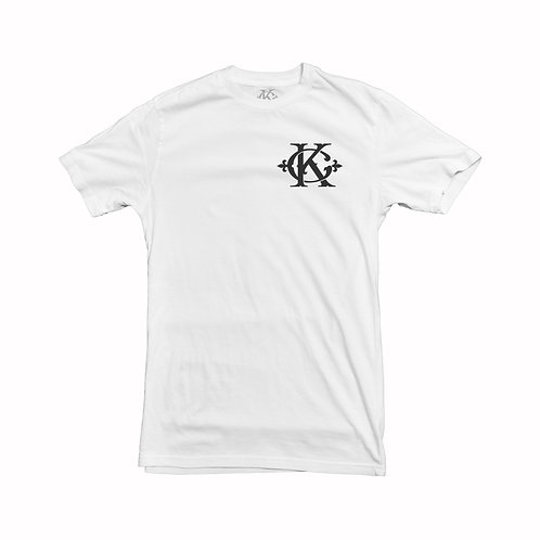 KINGMAKER white T monogram