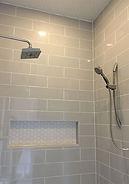 Tiling bathrooms