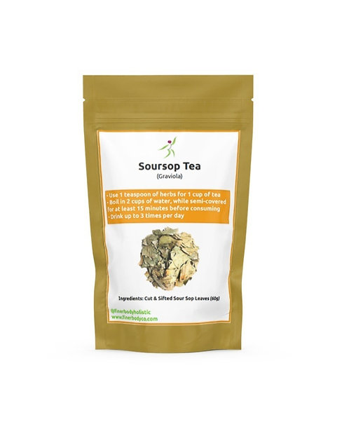 Soursop (Graviola) Leaves Tea