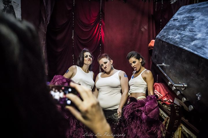 Facebook - DOWN UNDER Burlesque  The Fanny Dancers Red Rattler, January 2015