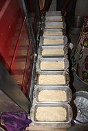 Der Teig ist fertig für den Ofen