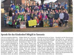 Martinsaktion Hasselter Grundschule