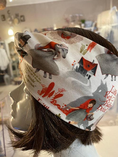 Fascia per capelli Cappuccetto rosso