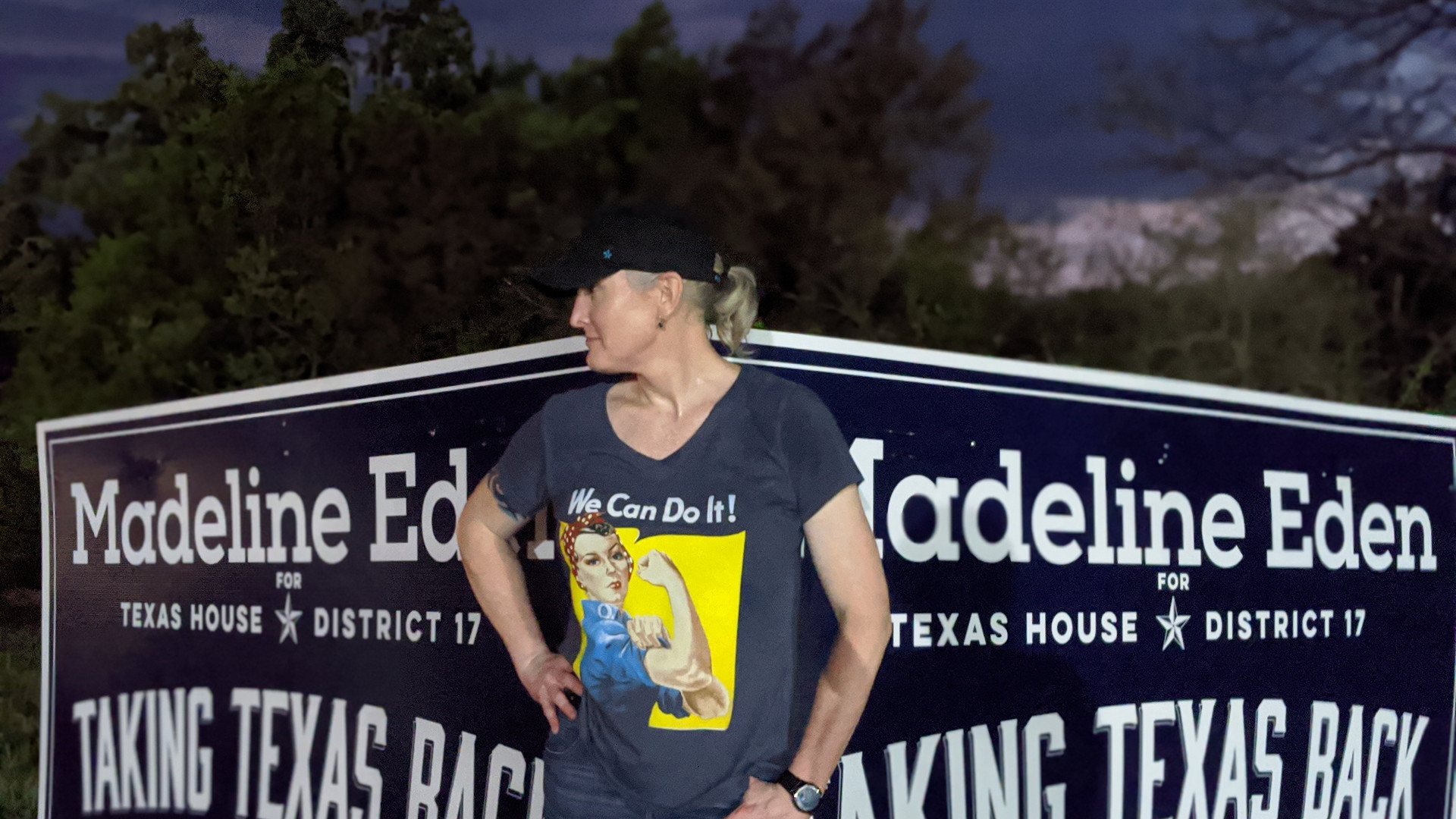 Madeline Eden Taking Texas Back