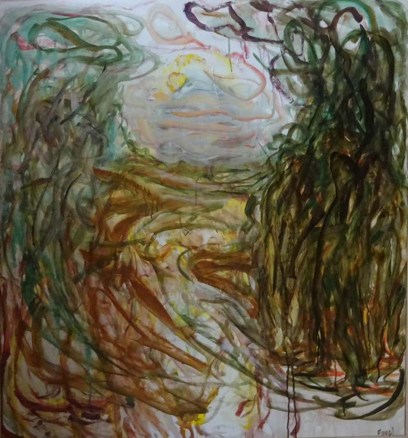 FAYEL_Hervé-Chemin_tournant-Acrylique_