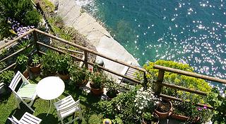 Sun and Surf in Vernazza, Cinque Terre, Liguria, Italy