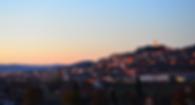 Sunset at Castiglion Fiorentino, Tuscany, Italy