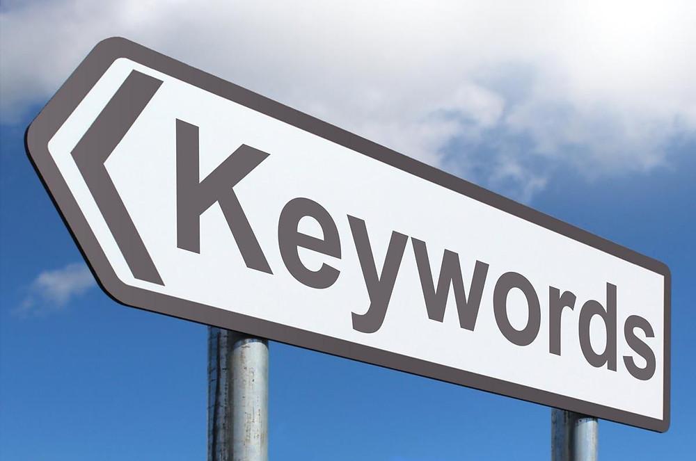 Keywords road sign