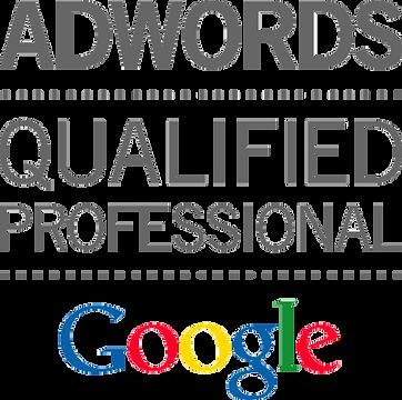 AdWords certification logo