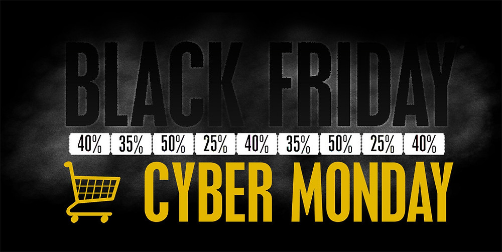 Black Friday & Cyber Monday discount banner