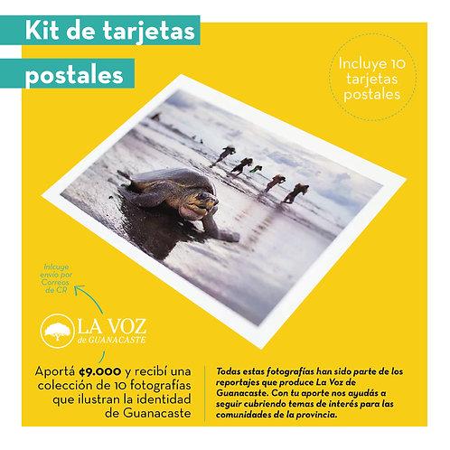 Kit de tarjetas postales