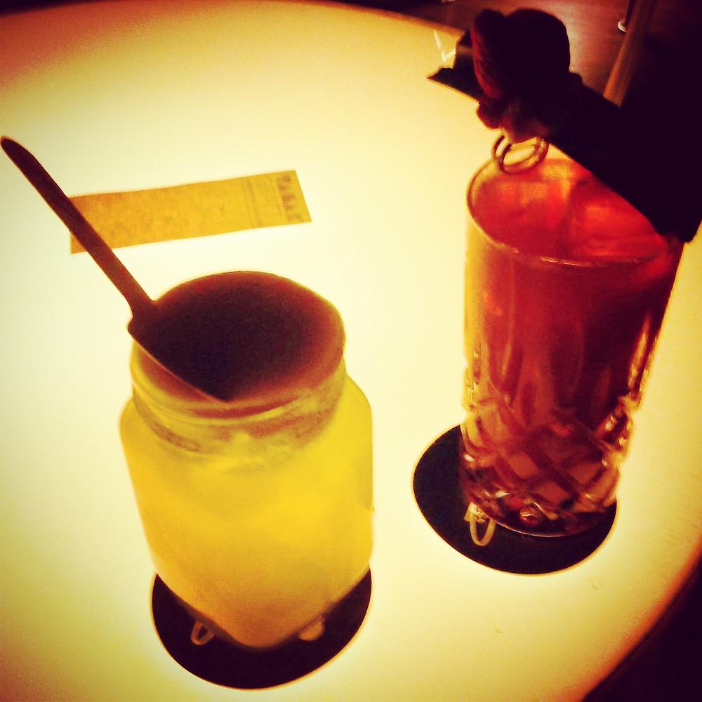 cocktails at zephyr bar