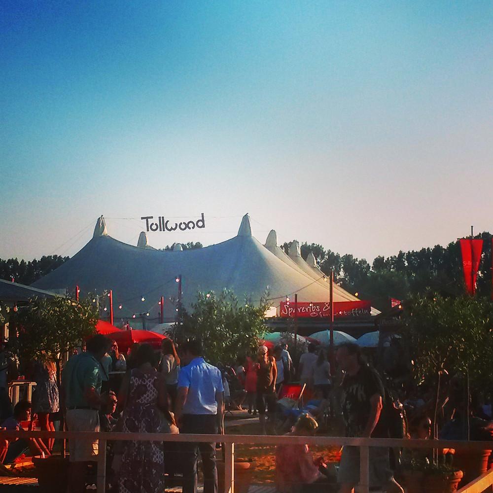 summer tollwood festival at olympicpark in munich
