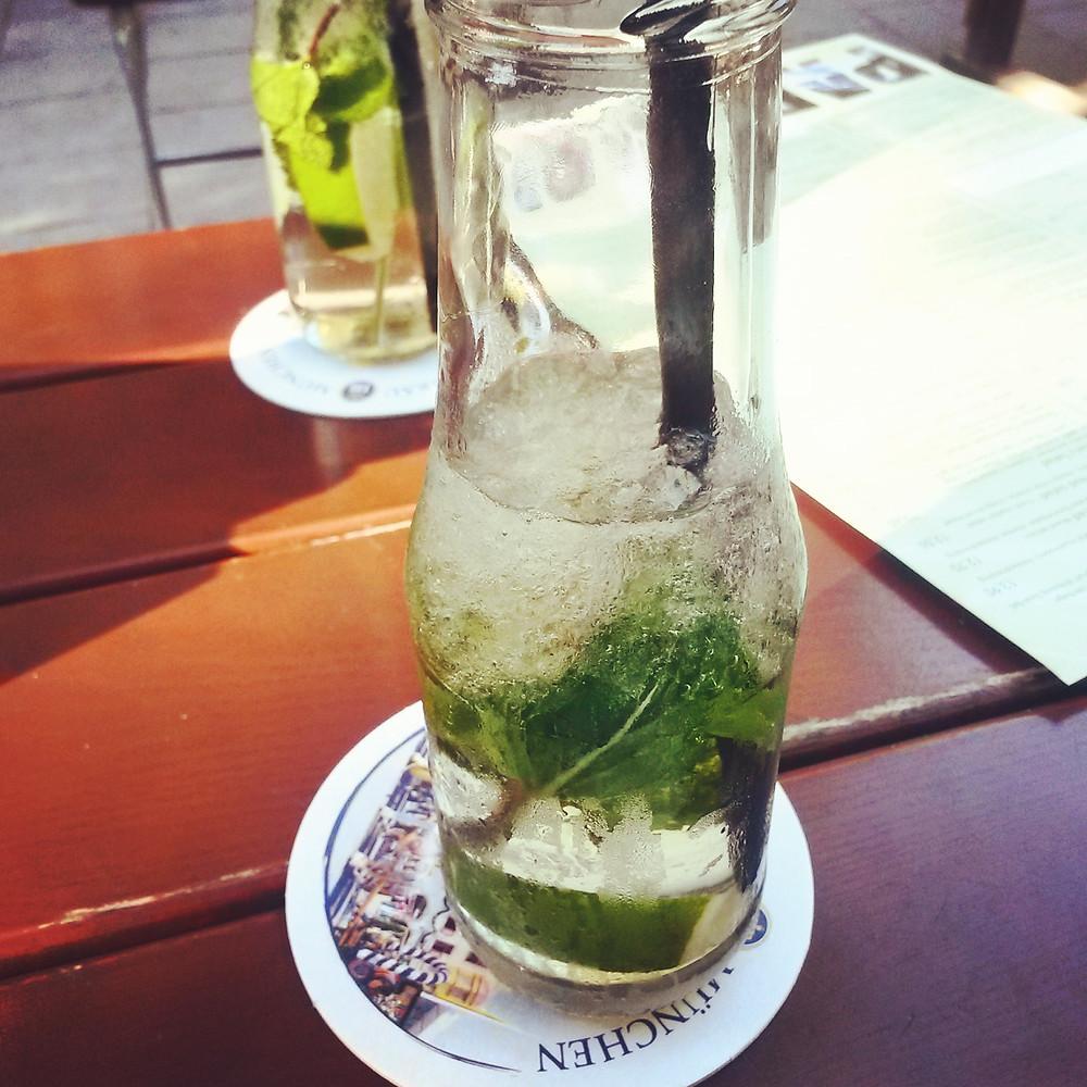 hugo spritz at park cafe in munich