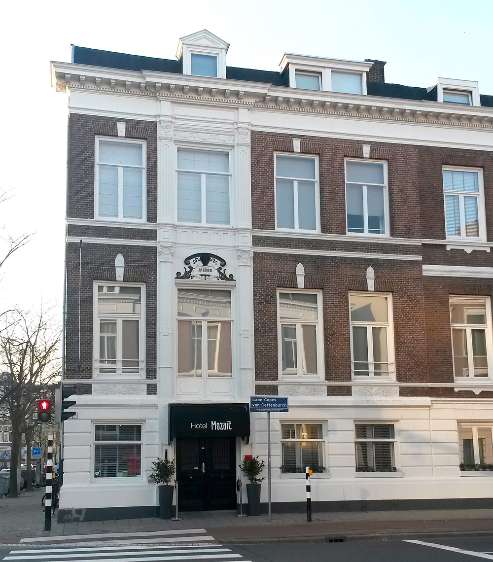 Hotel Mozaic exterior, The Hague