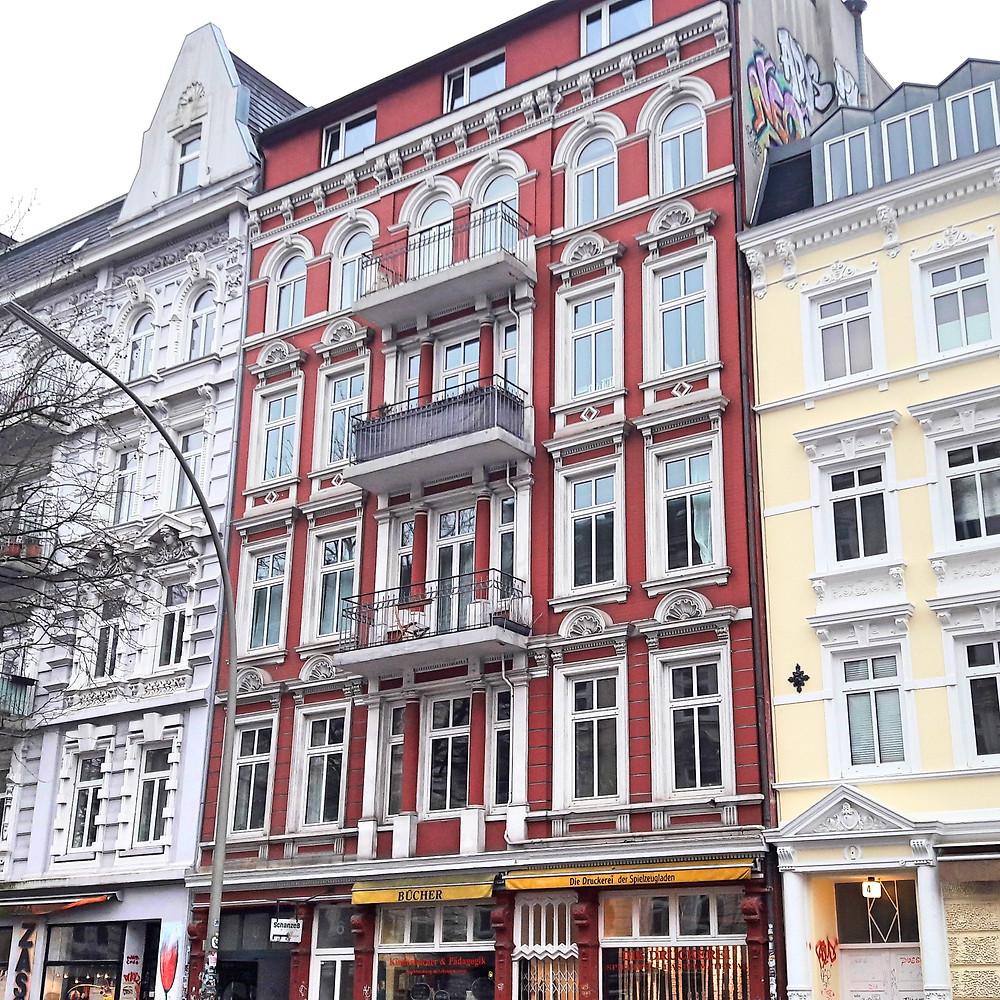 buildings in Schanzenviertel hamburg