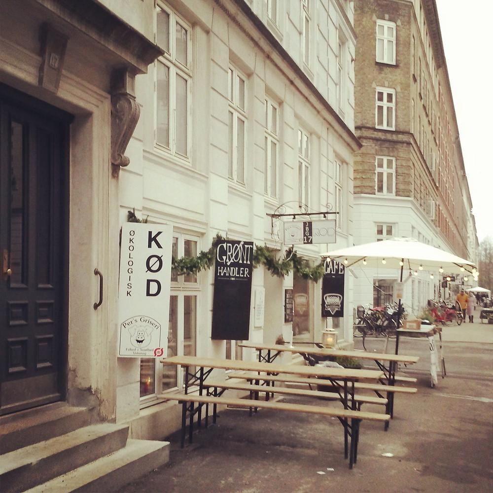 Jaegersborggade in copenhagen