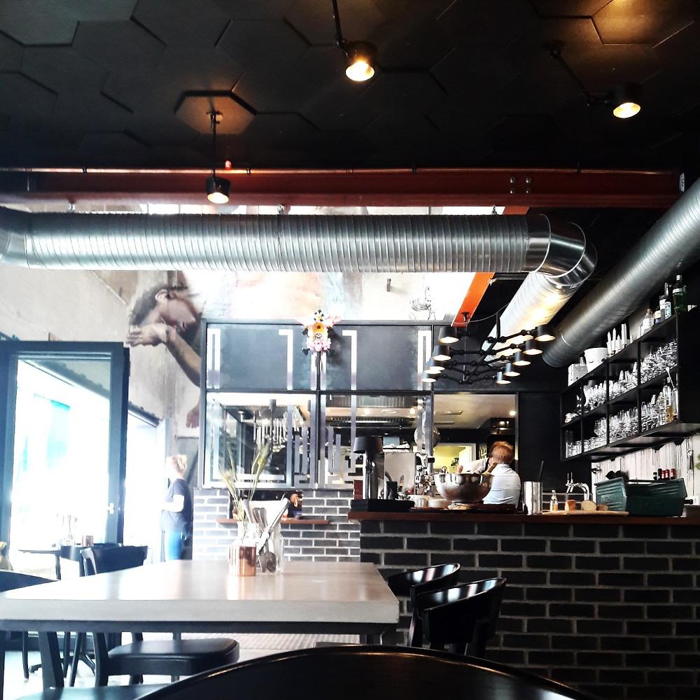 Mural Restaurant interior