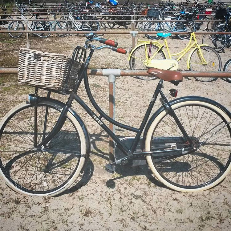 bikes at the beach in The Hague