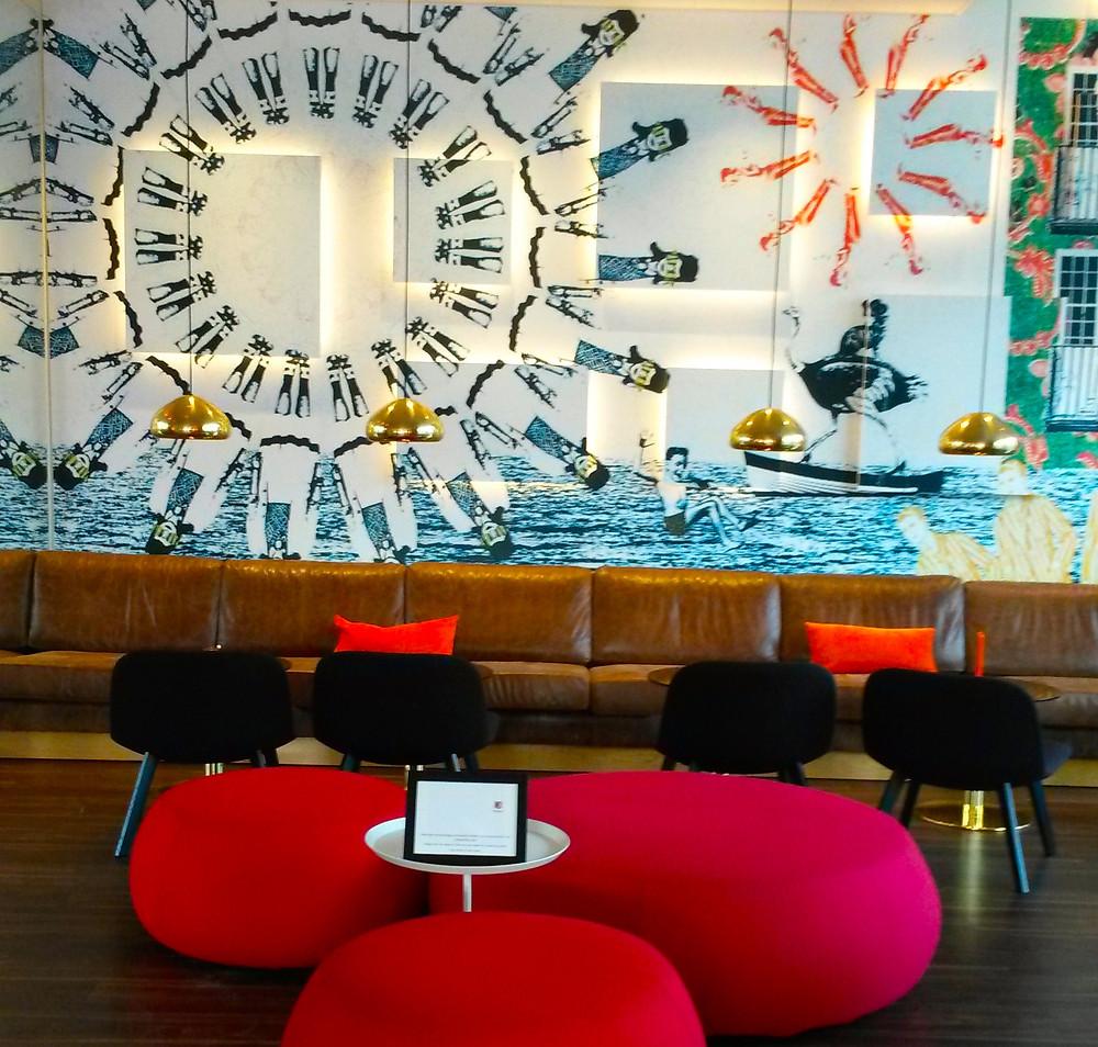 lounge Motel L Hammarby Sjöstad in stockholm