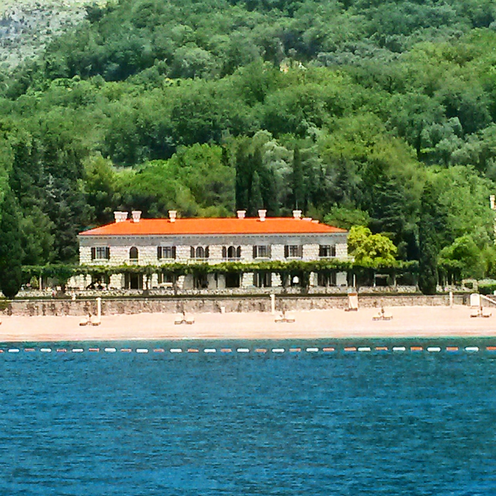 Milocer beach, Montenegro