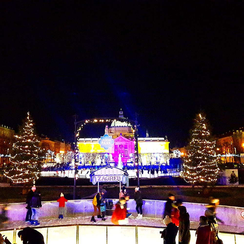 Ice Park, Zagreb Advent