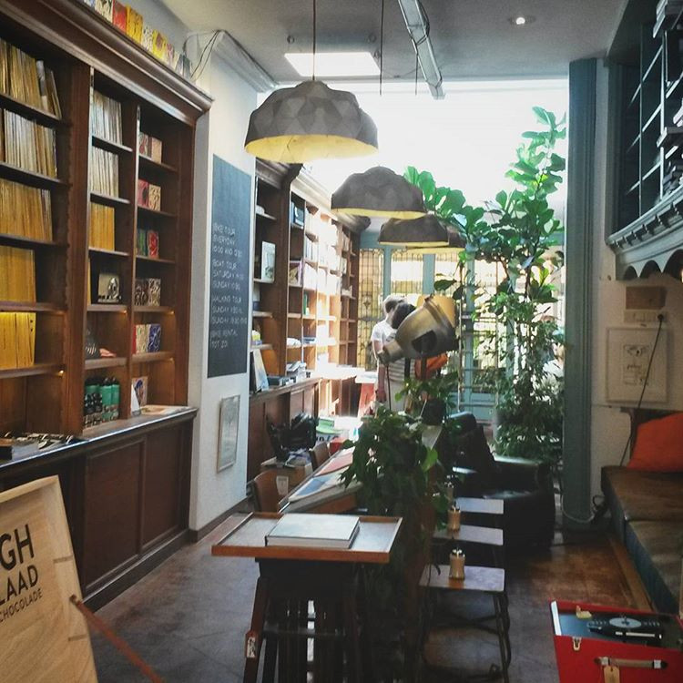 hip bookshop in The Hague