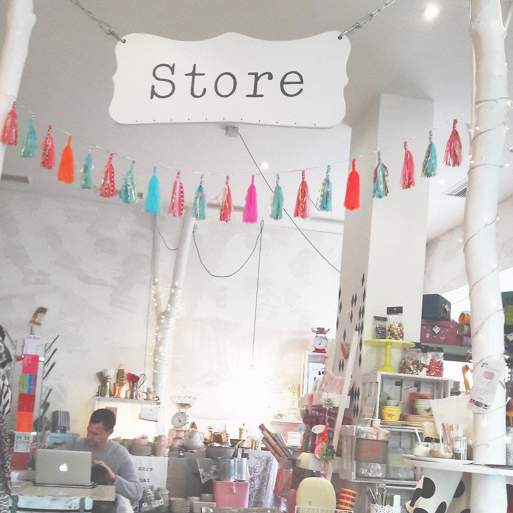 store in white rabbit's room cafe munich