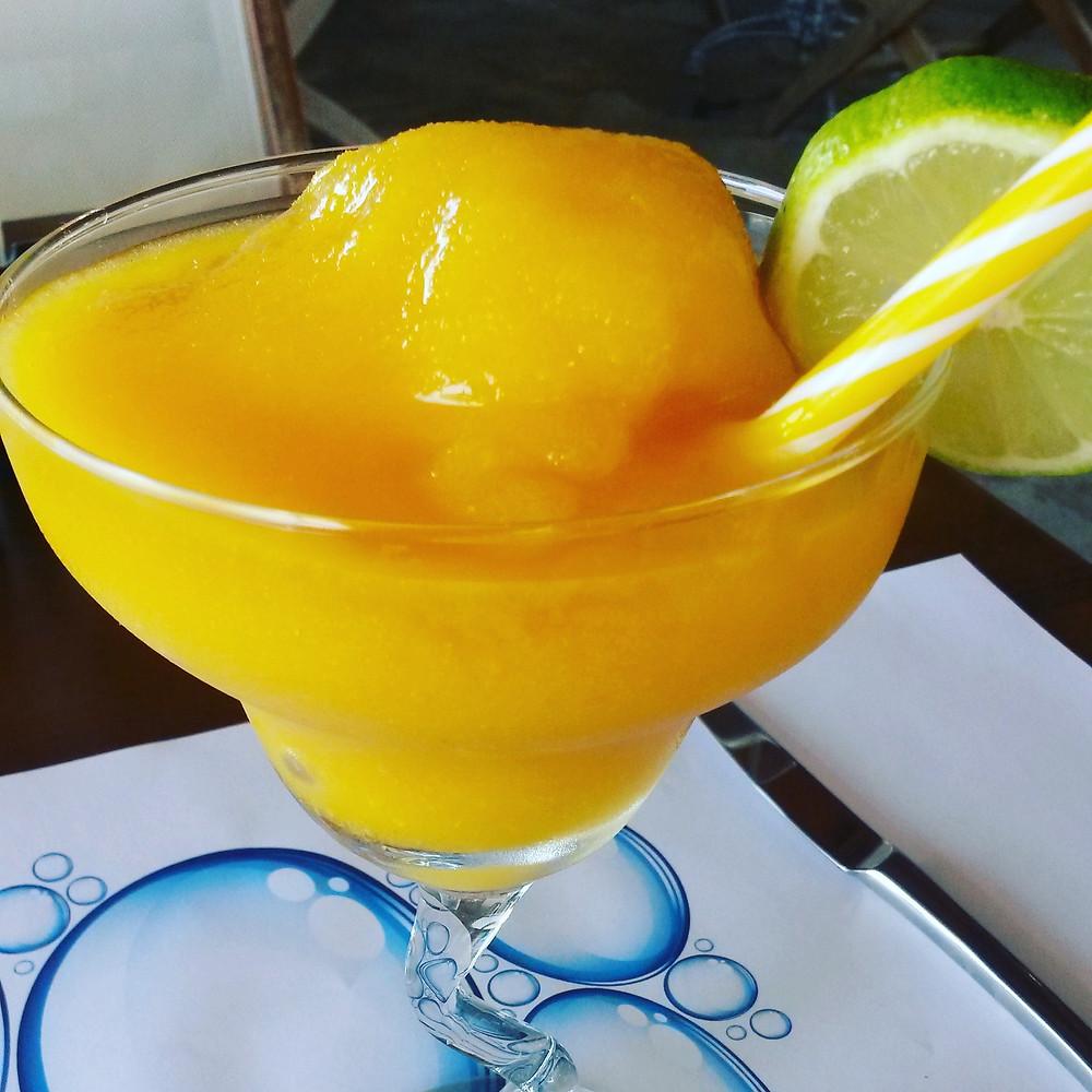 Frozen tropical cocktail