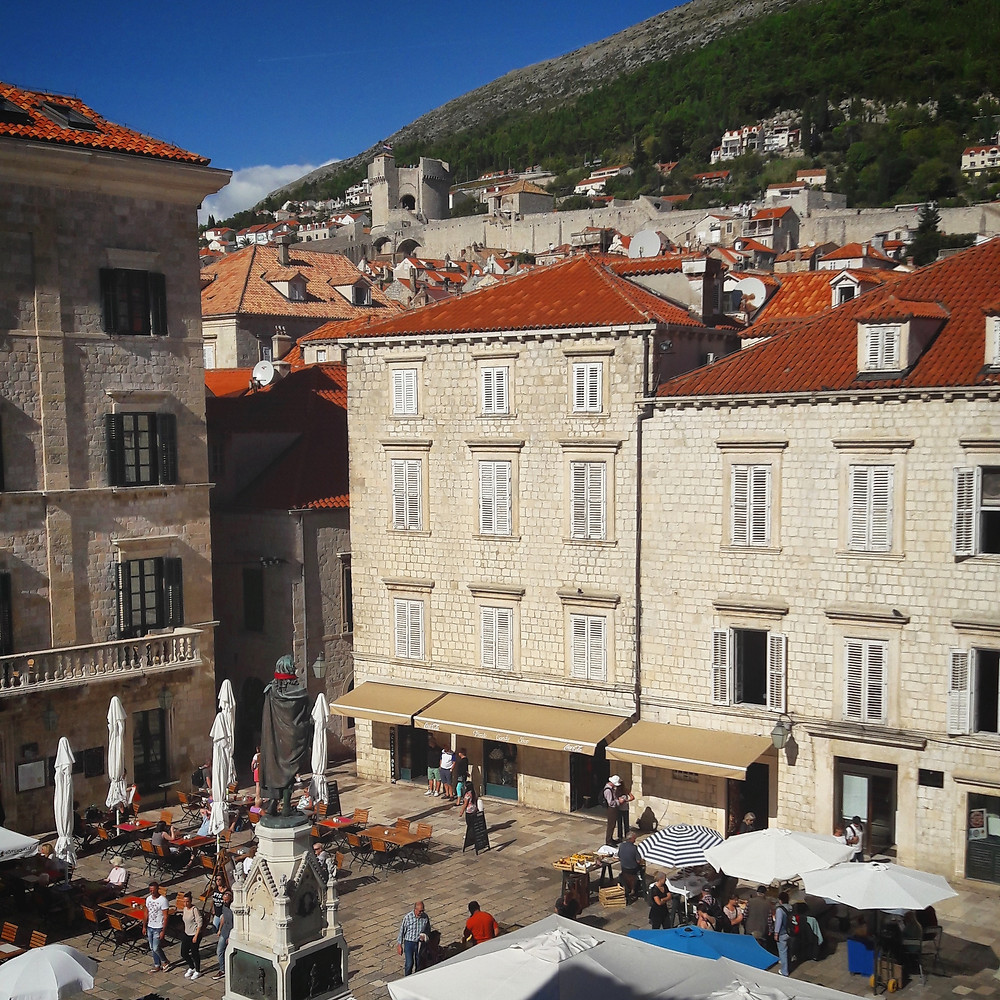 fresh sheets kathedral dubrovnik view from bedroom