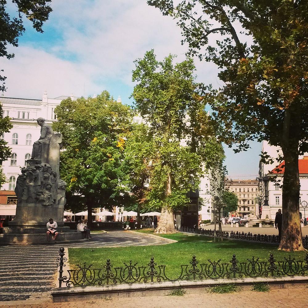Vörösmarty Square budapest