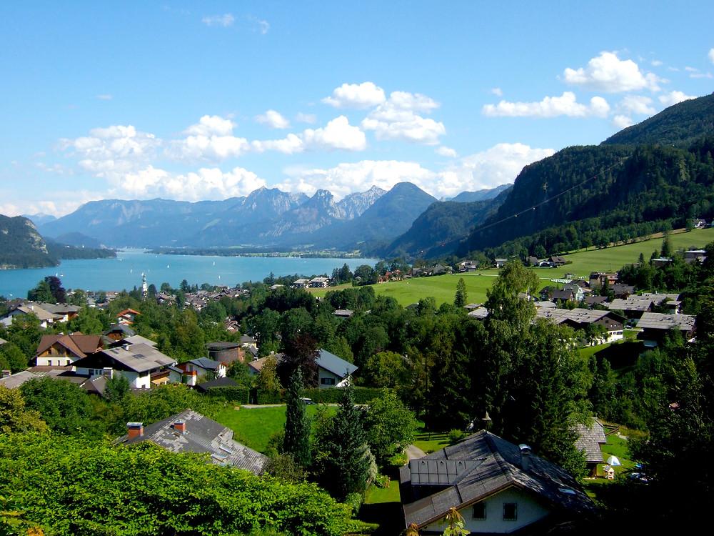 Lake Wolfgang, Salzkammergut