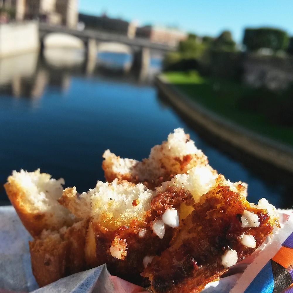 cinnamon bun in stockholm