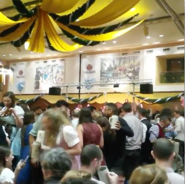 dancing at Nockherberg Starbierfest in Munich