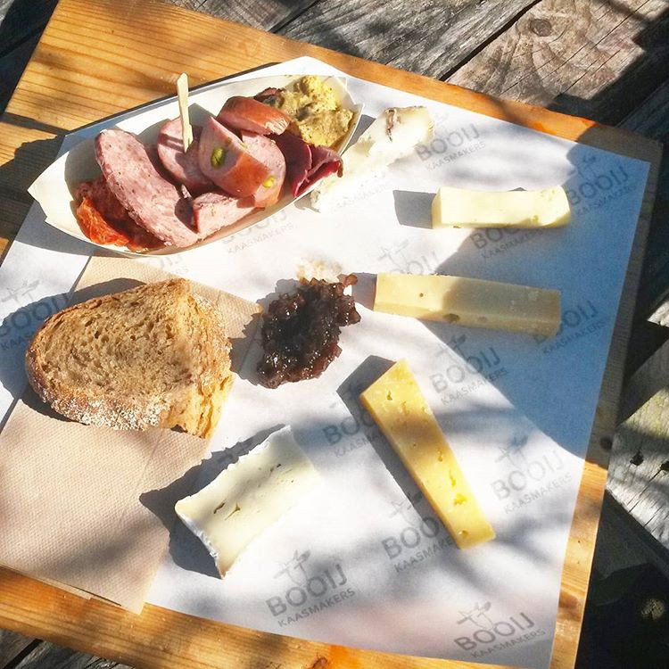 selection of meet and cheeses, Rotterdam