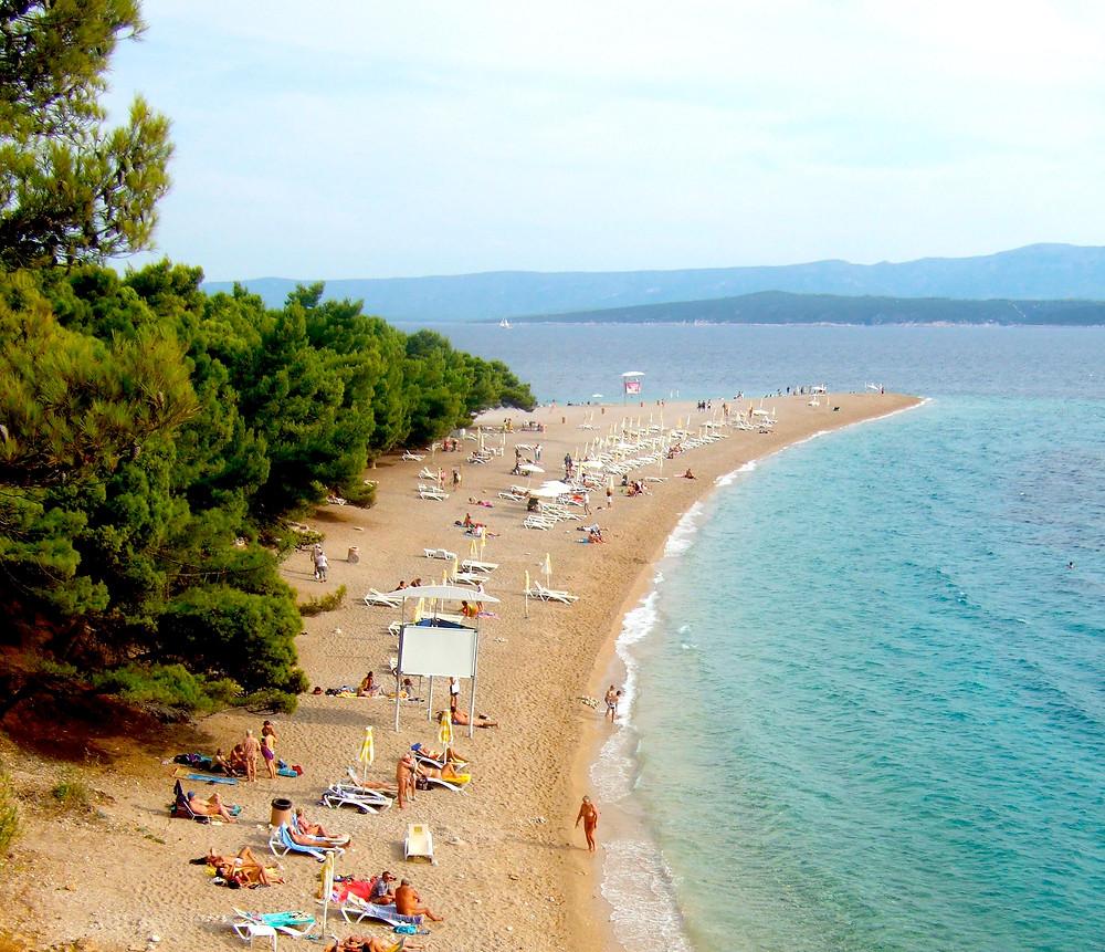 Zlatni Rat Beach, Island of Brac, Croatia