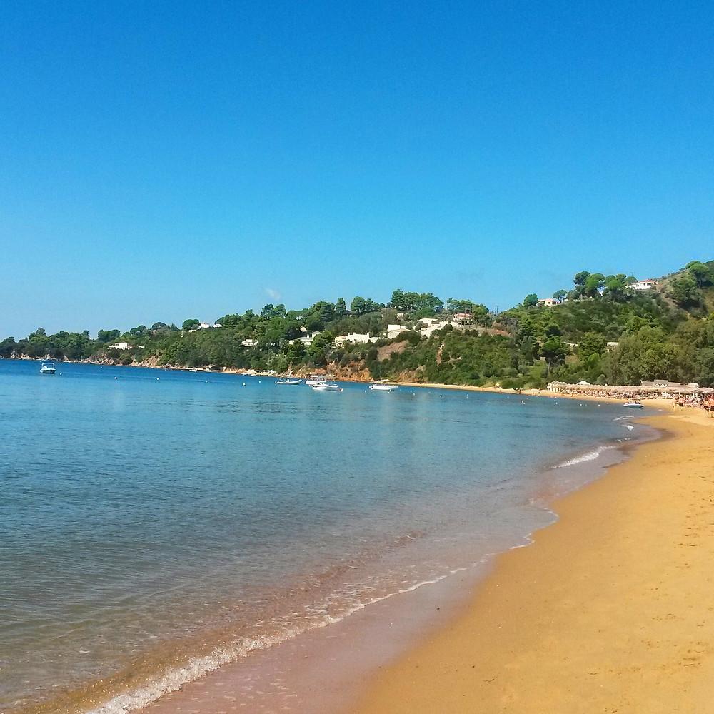 agia paraskevi beach, Skiathos