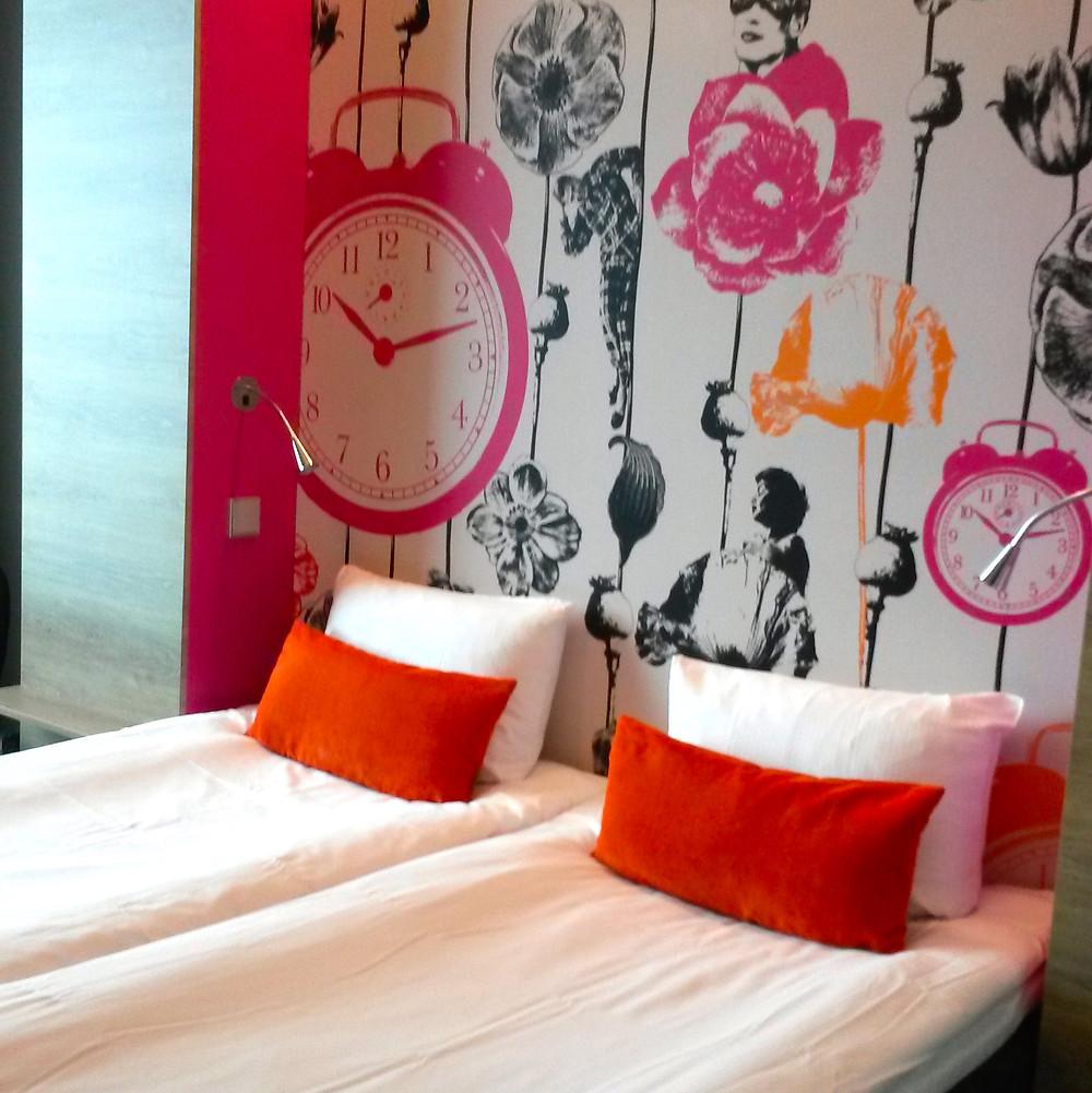 bedroom Motel L Hammarby Sjöstad in stockholm