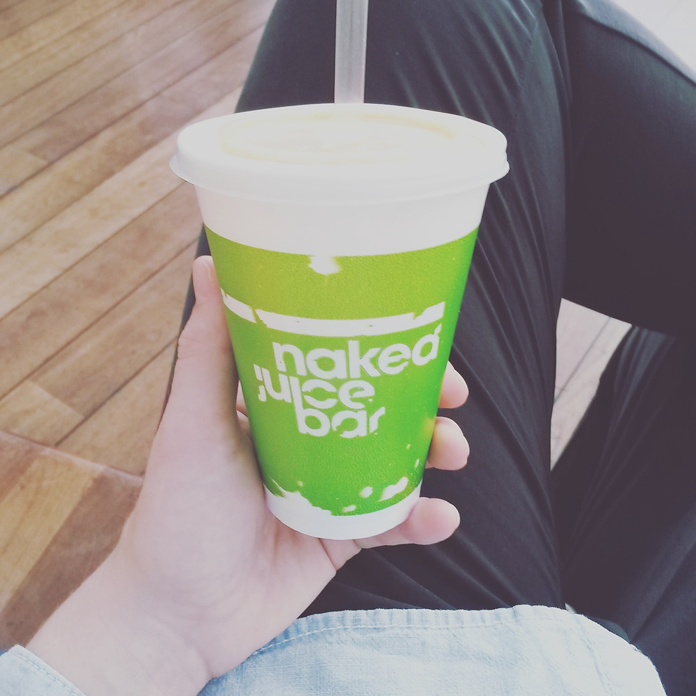 Green Juice from Naked Juice Bar