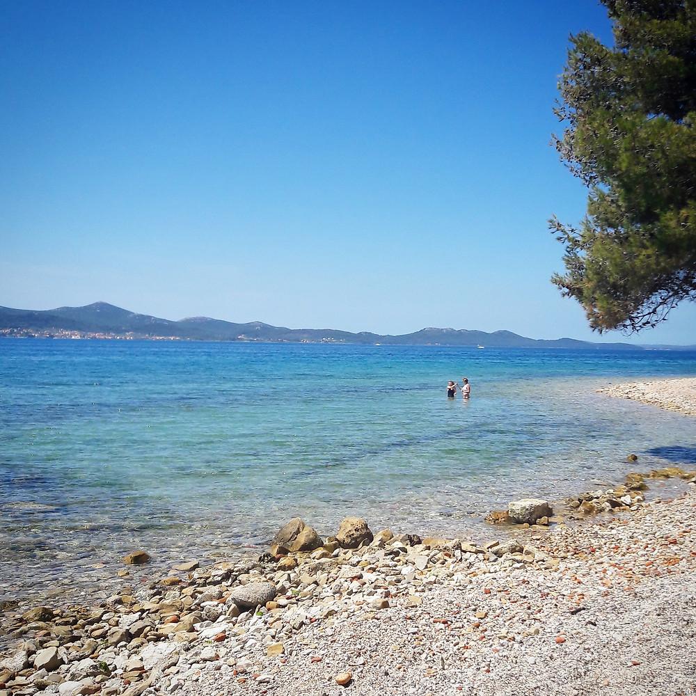 beach near Zadar
