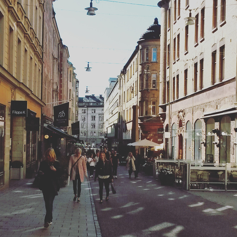 stockholm shopping streets