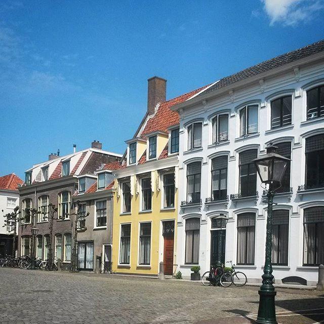 pretty streets in Leiden