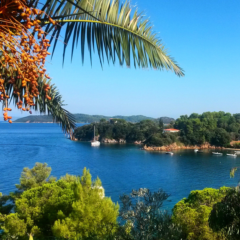 view of the sea from skitahos coastal bus